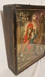 Икона Матерь Божья, образ пресвятой Богородицы. Большой размер., фото №6