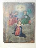 Икона Коронование Пресвятой Богородицы (XIX) в., фото №7