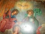 Икона Коронование Пресвятой Богородицы (XIX) в., фото №8