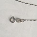 Золотая цепока с кулоном,с бриллиантом, фото №6