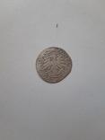 Польский коронный грош 1527 года. Перевертыш. Сохранность хорошая., фото №3