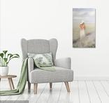 Картина, Запах лаванды, 60х35 см. Живопись на холсте, фото №11