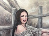 """Картина, """"В стиле Бохо"""", 100х60 см. Живопись на холсте, фото №4"""