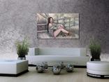 """Картина, """"В стиле Бохо"""", 100х60 см. Живопись на холсте, фото №9"""