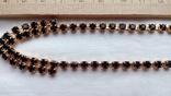 2606 колье чехословакия позолота камни, фото №6