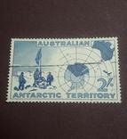 Марка 1957 г. Антарктические территории Австралии, фото №2