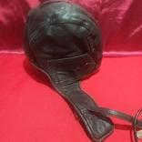 Шлем лётный зимний с наушниками , микрофон, фонарь., фото №3