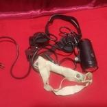 Шлем лётный зимний с наушниками , микрофон, фонарь., фото №8