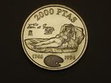 2000 песет, 1996 г Испания, фото №2