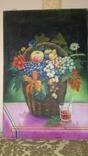 Натюрморт Г.Трегуб холст масло 40х60см, фото №3