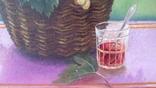 Натюрморт Г.Трегуб холст масло 40х60см, фото №11