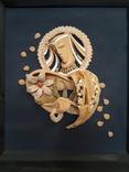 Картина нежность керамика, фото №3