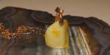 Янтарный кулон, фото №6