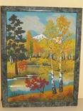 Картина из камня 45х35 см, фото №2