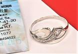 Кольцо перстень серебро 925 проба 1,02 грамма размер 16, фото №4