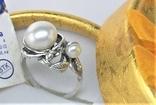 Кольцо перстень серебро 925 проба 5.12 грамма размер 17.5, фото №2