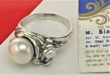 Кольцо перстень серебро 925 проба 5.12 грамма размер 17.5, фото №3