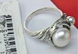 Кольцо перстень серебро 925 проба 5.12 грамма размер 17.5, фото №4