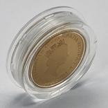 25 фунтов. 1988. Елизавета II. Великобритания. Пруф (золото 999,9, 1/4 унции), фото №5