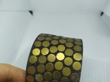 Широкий латунный браслет. (3), фото №6