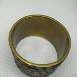 Широкий латунный браслет. (3), фото №7