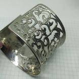 Широкий ажурный браслет (3), фото №4