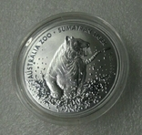 Суматранский тигр 1 2020 Серебро 1oz 999, фото №2