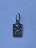 Ладанка серебряная, 925 пр, фото №2