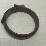 Кожаный браслет на жесткой основе (3), фото №7