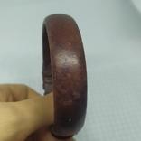 Кожаный браслет на жесткой основе (3), фото №8