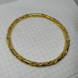 Витой браслет под золото. (3), фото №5