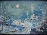 Зимний день импрессионизм  15*12, фото №5