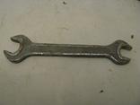 Гаечный ключ № 5 -  хромованадий - СССР - экспортный - 22 х 19 - разборка гаража., фото №6