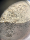 Стопка, серебро 875 пробы., фото №6