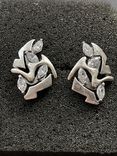 Серебряные сережки, фото №3
