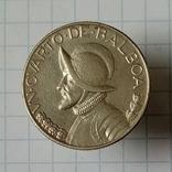 1/4 бальбоа 1930г Панама серебро, фото №2