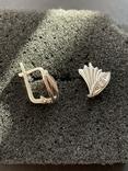 Серебряные сережки, фото №2