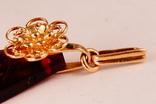Золотой кулон 583, фото №6
