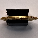 1/2 Pahlavi (Пол Пахлави). Иран. (золото 900, вес 4,05 г), фото №4