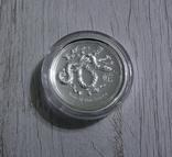 Год Змеи, 2-й Лунар - Высокий рельеф - серебро 999 унция, фото №4
