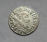 Трояк 1622 г., фото №2