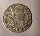 Литовский грош 1626 г Сигизмунд 3 Литва, г. Вильнос, фото №2