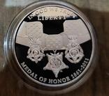 США 1 доллар 2011 г. Военное дело. Серебро. Пруф, фото №3