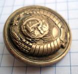 Пуговица 16 лент в гербе, фото №5