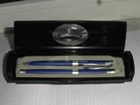 Подарочный набор ручек в футляре-коробке.pierre cardin, фото №6