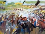 Картина Бродинская битва, фото №5
