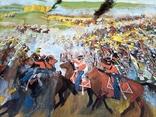 Картина Бродинская битва, фото №6
