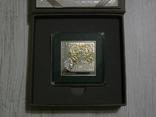 ШЕДЕВРЫ РЕНЕССАНСА - Леонардо Да Винчи «Дама с горностаем» - серебро - ПОЛНЫЙ КОМПЛЕКТ, фото №4