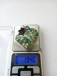 Серебро 925 проба. Вес 19.45 грамм, фото №7