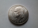 США 1 доллар 1971 S Эйзенхауэр / серебро, фото №3